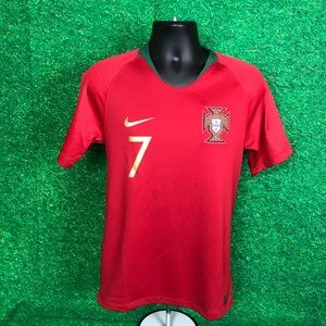 Nike authentic Portugal CR7 Soccer Jersey Sz S